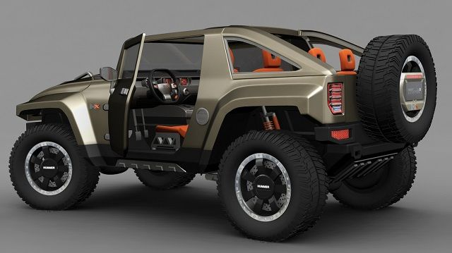 2018 Hummer H4 Rumor, Redesign and Release Date