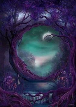 art God moon night stars Magic fantasy Witch fairy Luna Nighttime fairytale spell magical Goddess wiccan pagan ritual wicca faery fantasyart magickal starrynight crescentmoon