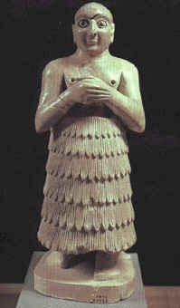 4. Sumerian man wearing a kaunakes garment | Chapter 2:The ...