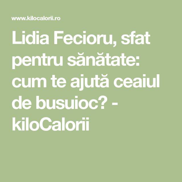 Lidia Fecioru, sfat pentru sănătate: cum te ajută ceaiul de busuioc? - kiloCalorii