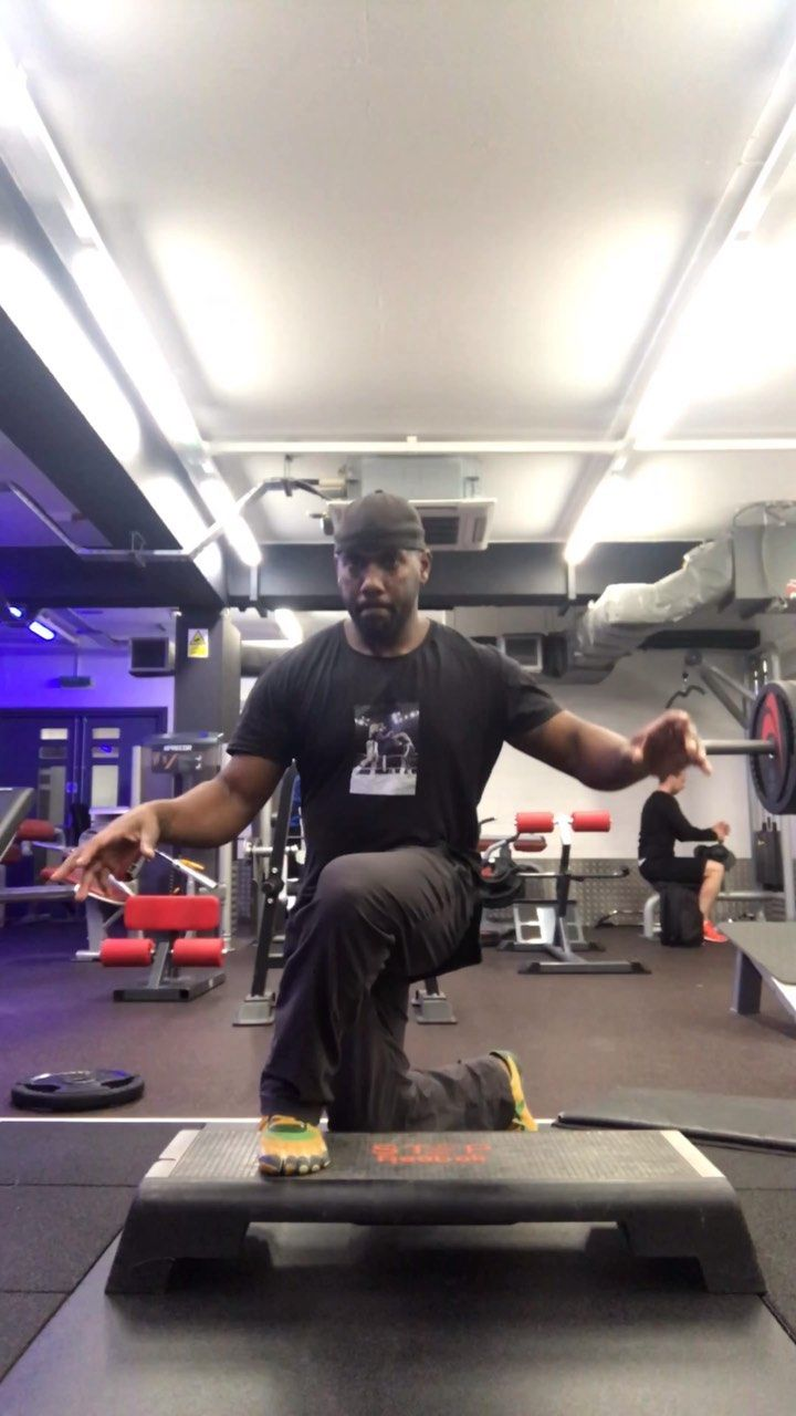1st Exercise Glute Lunge Into Piston Squat 2nd Exercise Overhead Hold Doing Glute Lunges 3rd Exercise Supine Single Leg Hip Gym Workouts Glutes Squats