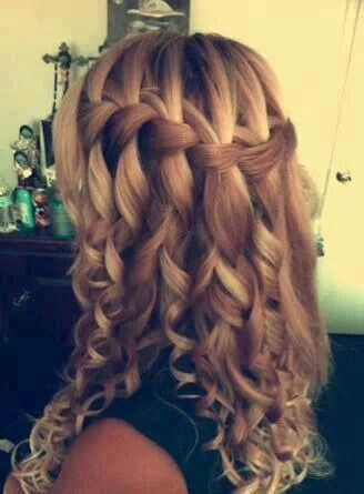 Love this - I wish I could get my hair to look like this!!!