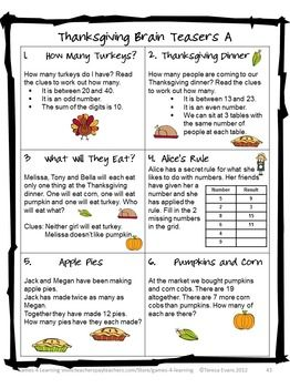 Number Names Worksheets thanksgiving math puzzles worksheets : 1000+ ideas about Thanksgiving Math on Pinterest | Addition And ...