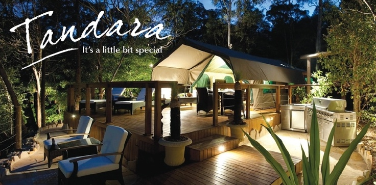 Tandara is truly an experience unique to Sydney. A high quality freestanding tent ideally suited for a discerning couple looking for something different to experience