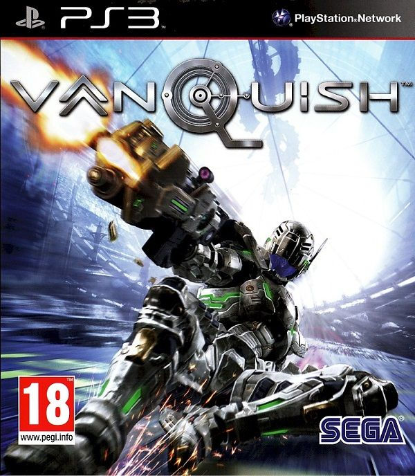 Kết quả hình ảnh cho Vanquish cover ps3