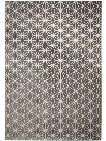 Benuta.de - Teppich Diamond Grau