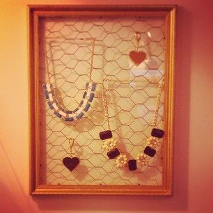 New jewellery displays in store...