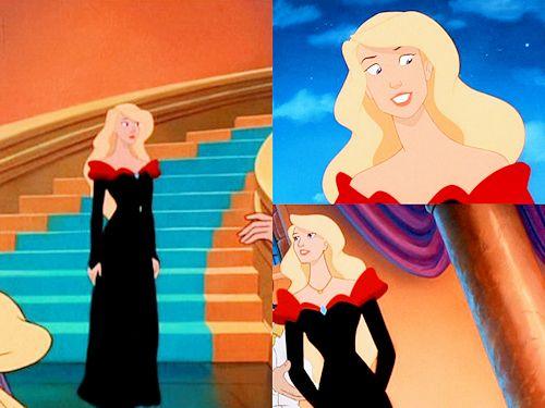 Odette Black Dress Cos Pinterest Disney Lakes And