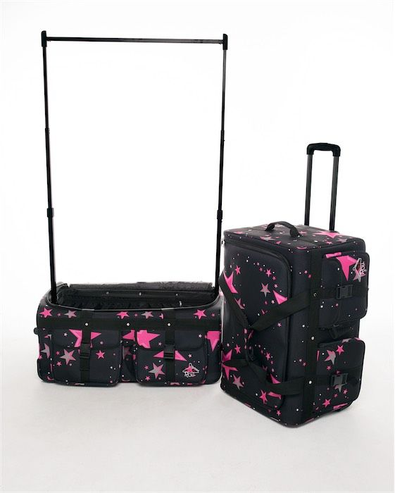 Dazzle Distributors Rac N Roll Dance Bag Pink Stars