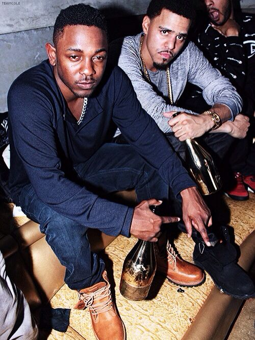 Kendrick Lamar and J. Cole- two talented artist