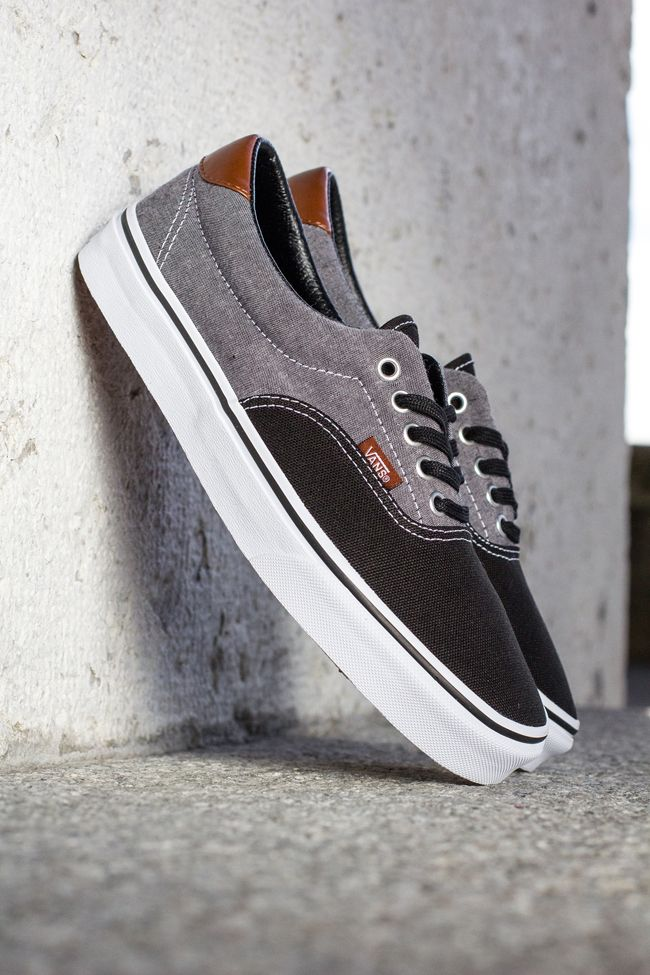 grey leather vans shoes