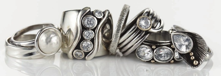 Gorgeous rings - the perfect gift
