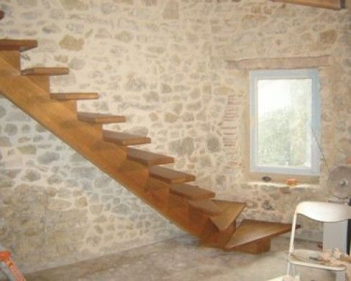 les 25 meilleures id es concernant escalier quart tournant sur pinterest escalier design. Black Bedroom Furniture Sets. Home Design Ideas