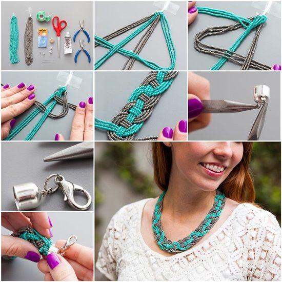 DIY Stunning Bead Statement Necklace