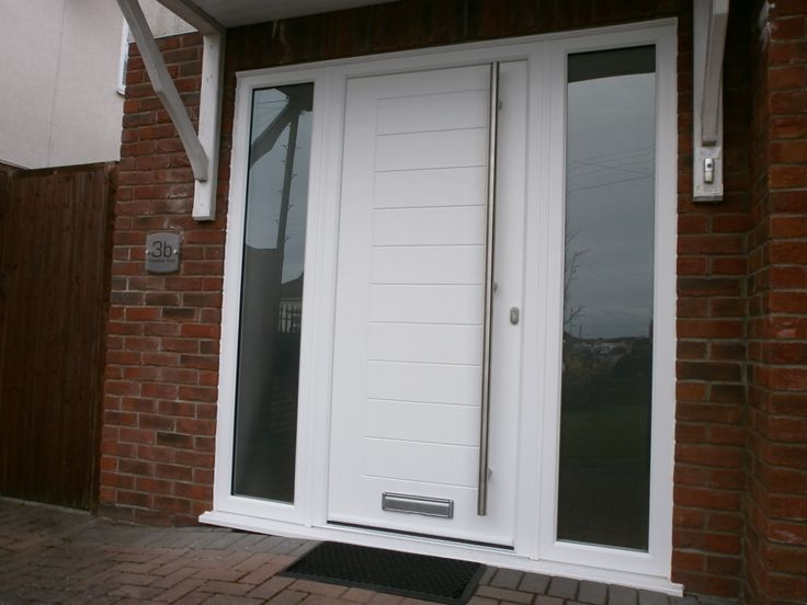 Try our modern Mayon style in white to help brighten up and secure your home. Find your nearest installer & get a quote now: http://endurancedoors.co.uk/authorised-retailers/