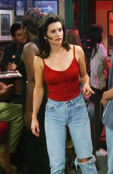 a calça rasgada no joelho <3 | Moda anos 90, Looks, Looks vintage femininos