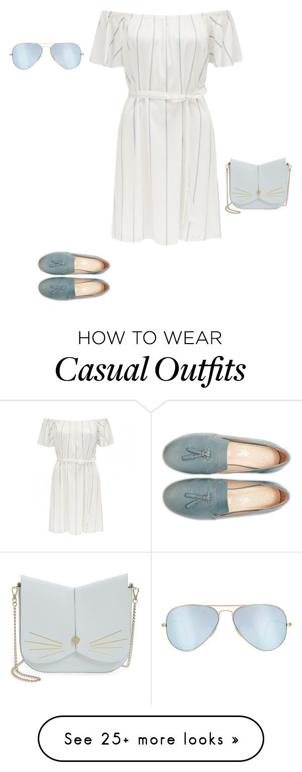 """""""Untitled #16768"""" by explorer-14576312872 on Polyvore featuring Ray-Ban and Ted Baker"""