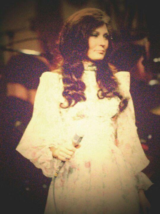 Loretta Lynn in concert about 1974