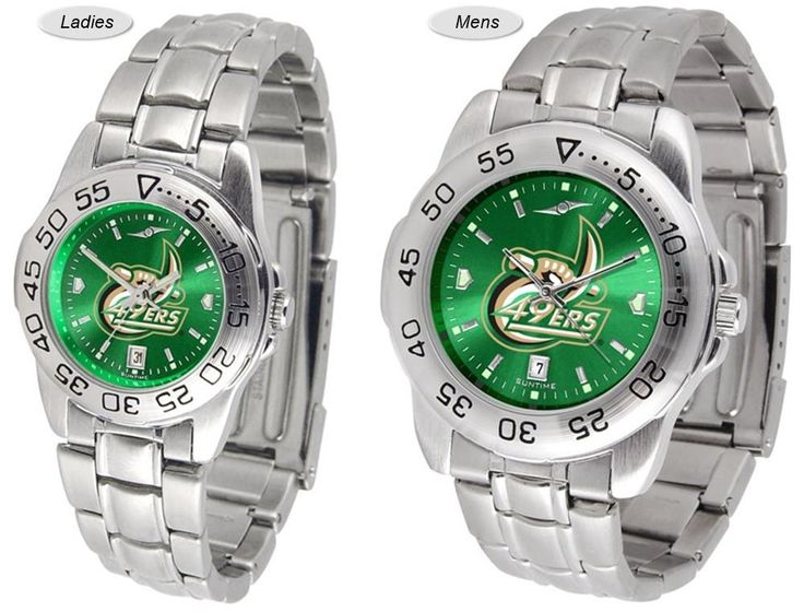 Sport Steel AnoChrome NC Charlotte 49ers Watch is available in your choice of Mens or Ladies styles. Showcases the team logo. Stainless Steel band. Ships Free. Visit SportsFansPlus.com for Details.