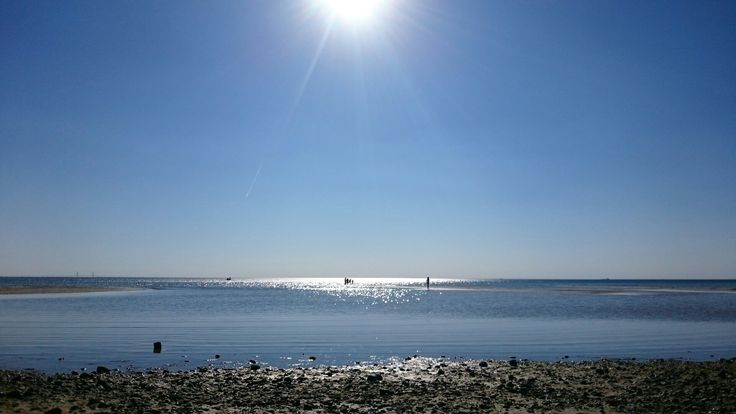 Lomma beach in Skåne, Sweden.