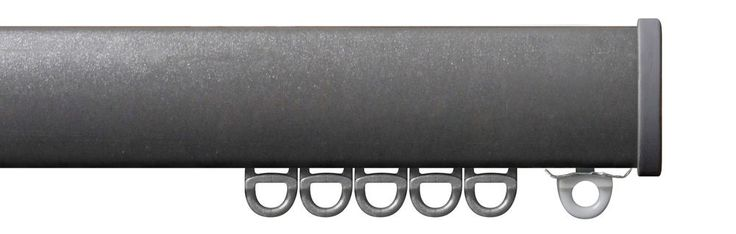Professional Quality Strong Metal Curtain Track Kits a Choice of 4 Colours