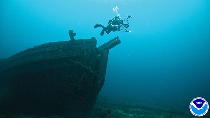 Tired of the cold? Why not start dreaming of a warm weather vacation exploring Shipwreck Alley and our Great Lakes' maritime heritage at Thunder Bay National Marine Sanctuary.