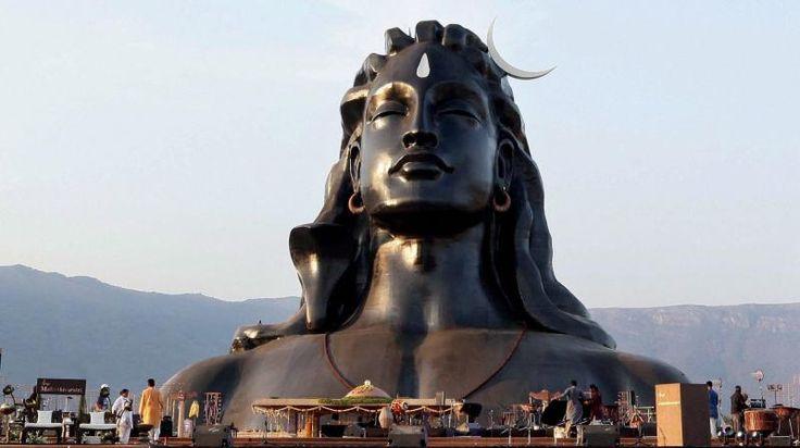 Coimbatore: Narendra Modi unveils 112-feet Shiva statue on Mahashivaratri