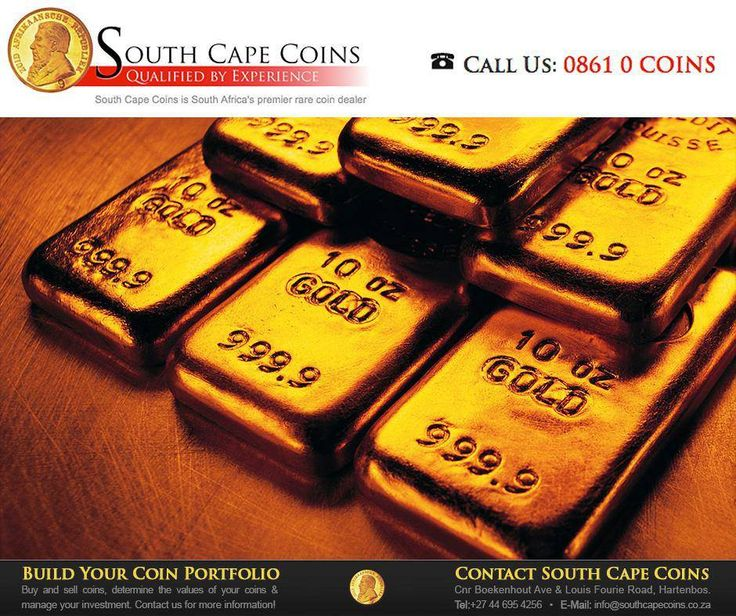 Nearly 40 percent of all #gold ever mined was recovered from South African soil. #SouthCapeCoins #FactFriday