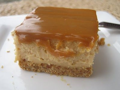 Dulce de Leche Cheesecake Bars Warning: May be Habit Forming ...