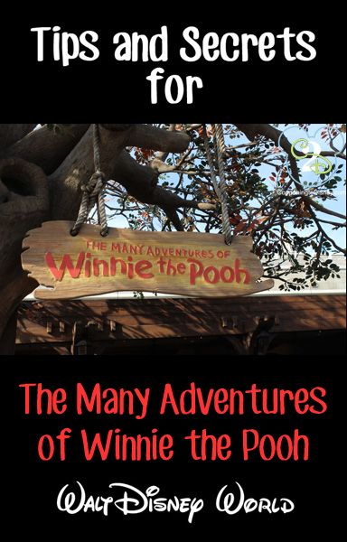 Awesome tips and secrets for Many Adventures of Winnie the Pooh at Walt Disney World. Pin this if you are going to WDW!