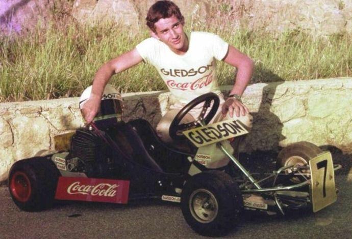 Em Ímola, homenagem mostrará kart guiado por Senna no início da carreira