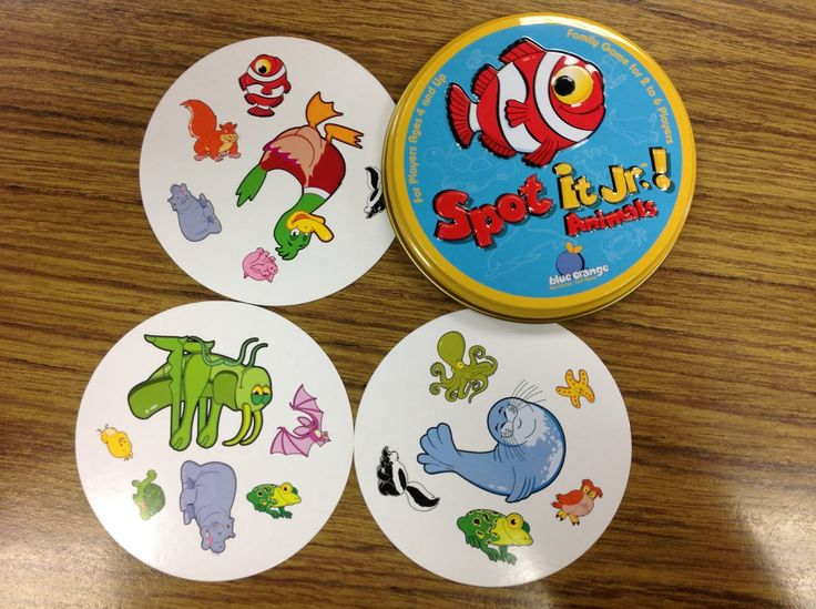 Liz's Speech Therapy Ideas: Spot It Adding additional questions/concepts  -give me another word for... -what's above/below?