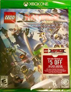 LEGO Ninjago Movie Video Game 2017 (Microsoft Xbox One,  NEW & FACTORY SEALED)  #legoninjago #lego #xboxone #ninjagomovie #ninjagomoviegame