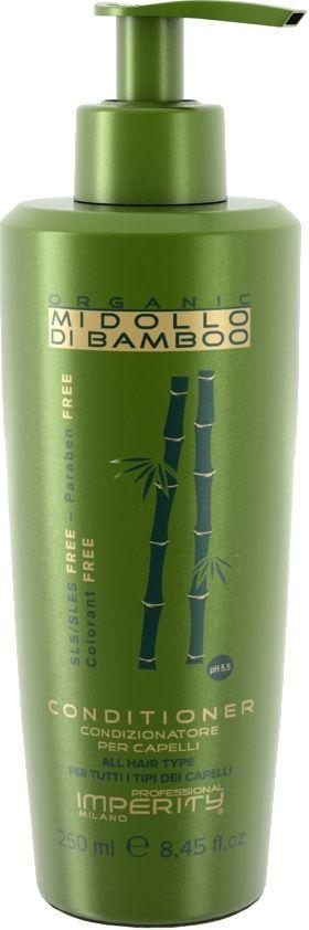 Imperity Organic Midollo Di Bamboo Conditioner 250ml  Description: IMPERITY Organic Midollo Di Bamboo Conditioner IMPERITY Organic Midollo Di Bamboo Conditioner is verrijkt met bamboo extracten. Deze extracten zorgen ervoor dat je haar optimaal wordt verzorgd. Daarnaast zal het haar gemakkelijker in model gebracht kunnen worden. IMPERITY Organic Midollo Di Bamboo Conditioner is geheel vrij vanSLS Silliconen Parabenen en Kleurstoffen. Het haar wordt verzorgt op natuurlijke wijze. Er ontstaat…