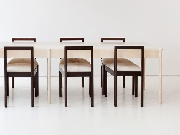 For Sale On   The Russell Dining Table Is Handcrafted And Made To Order In  Our Brooklyn Studio. It Is Constructed Of Solid Wood, And Pictured Above In  ...