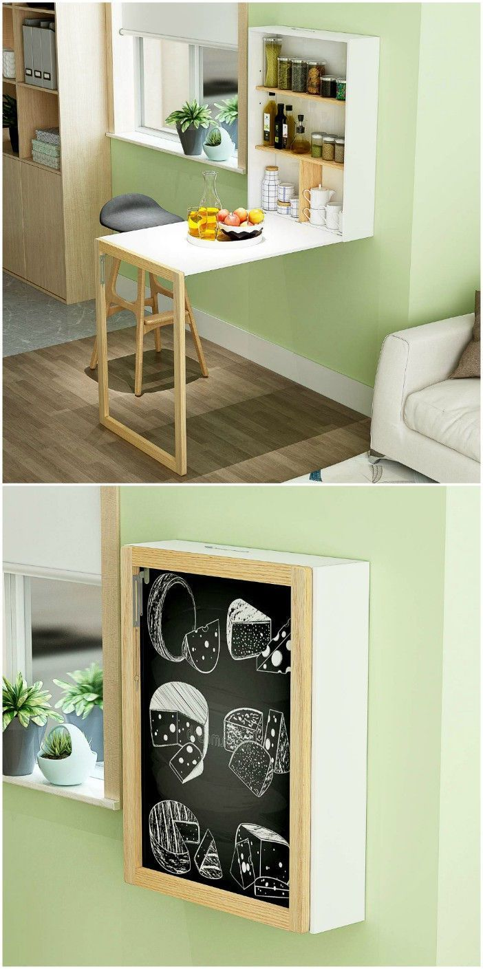 Twenty Dining Tables That Work Great In Small Spaces Dining Room Small Wall Dining Table Wall Mounted Dining Table