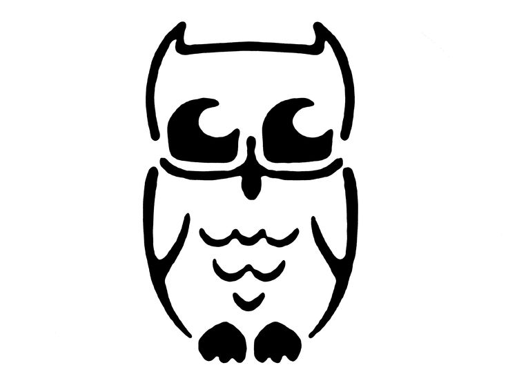 Owl template for pumpkin carving  http://christene.hubpages.com/hub/Free-Pumpkin-Carving-Patterns