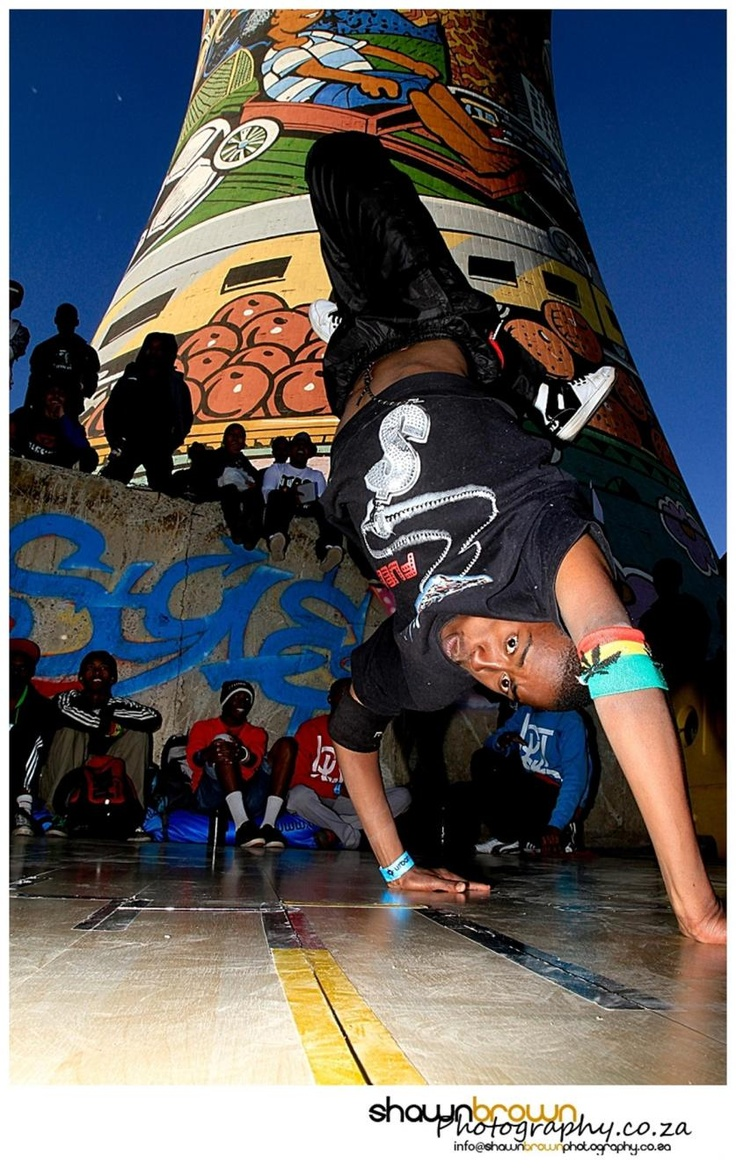 """""""Bboy Intensity"""" - Urban Sessions – Street Culture at Orlando Towers, Soweto"""