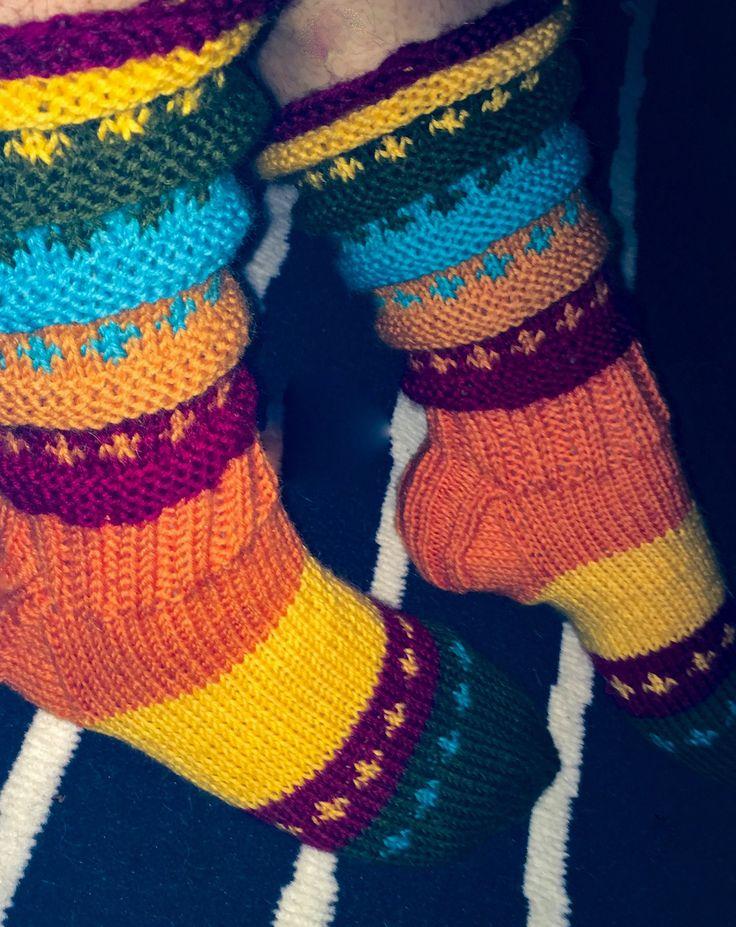 Autumn socks #socks #novita