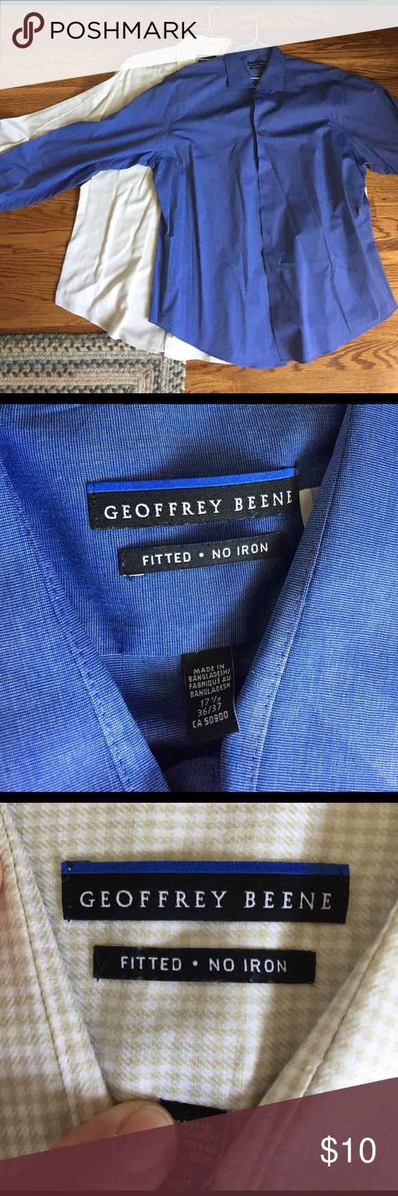 Geoffrey Beene Shirts EUC; size 36/37 Shirts Dress Shirts