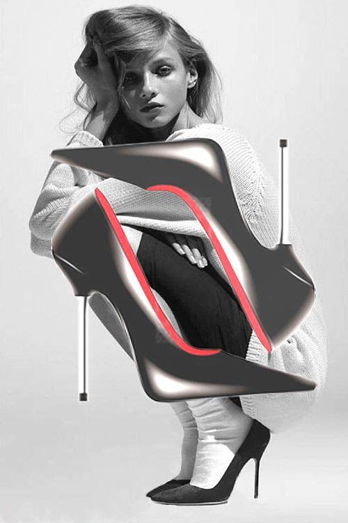 Sepatu untuk wanita adalah bagian tak terpisah dari busana.