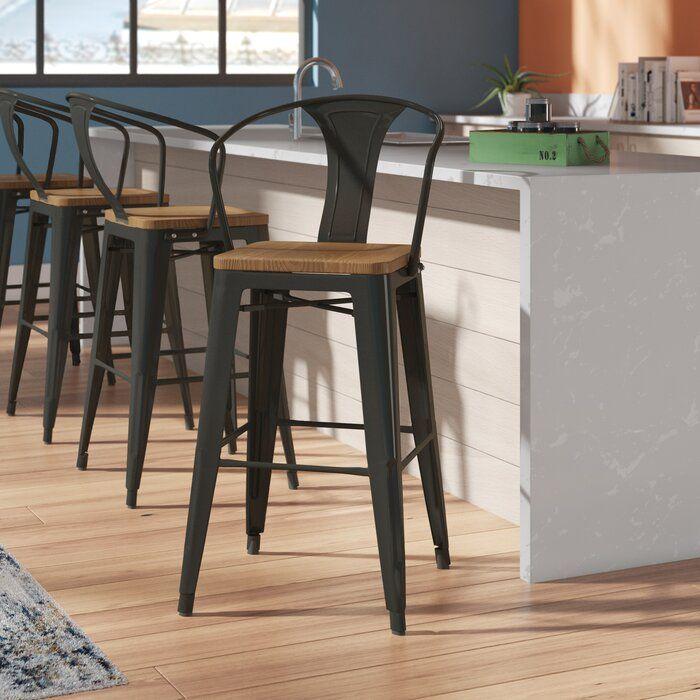 Trent Austin Design Ellery 30 Bar Stool Reviews Wayfair Bar Stools Farmhouse Bar Stools Outdoor Bar Stools