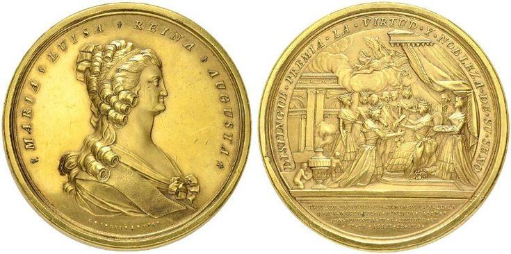 NumisBids: H.D. Rauch Auction 94, Lot 4391 : MEDAILLEN: EUROPA UND ÜBERSEE KROATIEN MEXICO Karl IV. 1789-1808...