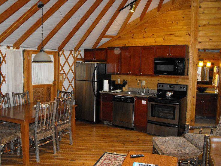 inside yurt  bluegreen resorts