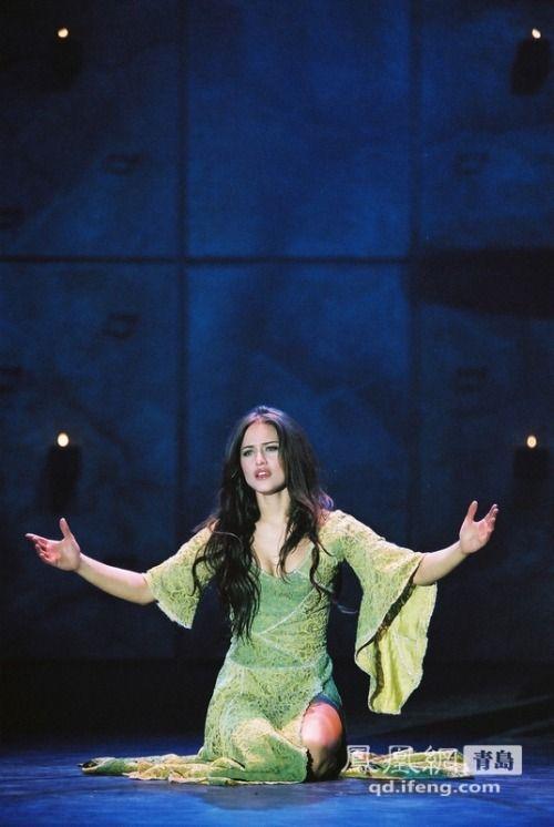 Esmeralda (Lola Ponce) - Italian Production of Hunchback of Notre Dame