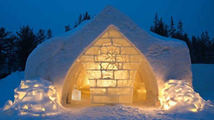 Arctic Snowhotel -Rovaniemi, Lapland, Finland