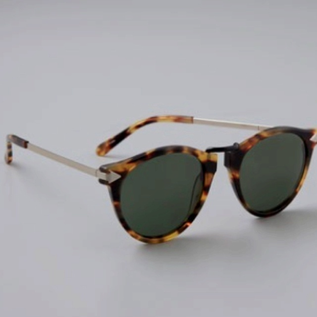 4439901df138 The Absolutely Perfect pair of tortoise shell shades—Karen Walker Helter  Skelter Sunglasses