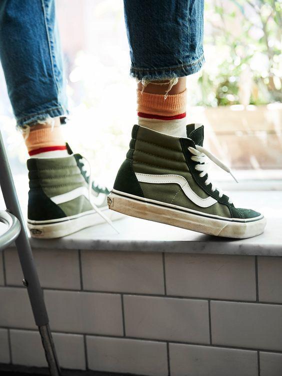 High tops and high socks