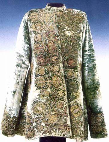Hungarian Coat, from 1620, Magyar Nemzeti Muzeum, Helikon Kiado, foto Dabasi Andras