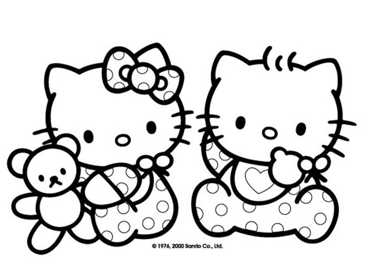 free printable baby hello kitty coloring pages for kids picture 14 picture - Coloring For Kid